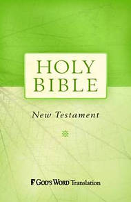 GW God's Word Outreach New Testament Paperback Green