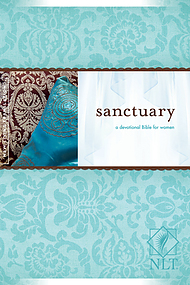 NLT Sanctuary for Women Bible: Hardback