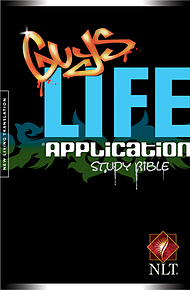 NLT Guy's Life Application Bible: Paperback