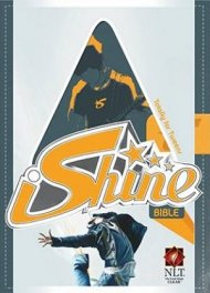 NLT iShine Bible: Boys, Blue, Leatherlook