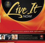Live It Now Dramatized Audio Nt Cd