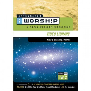 iWorship MPEG/Quicktime Library W-Z DVD-ROM