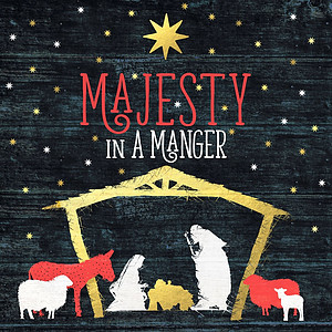 Majesty in a Manger CD