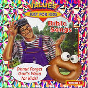 Donut Man Bible Songs Volume 1 Cd