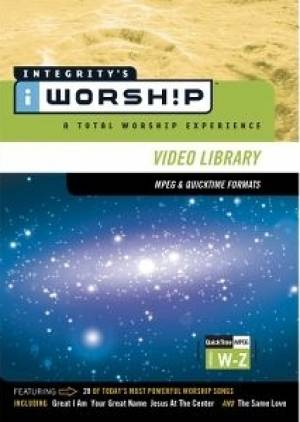 Iworship Mpeg Video Library W-z     (4dvd-rom)