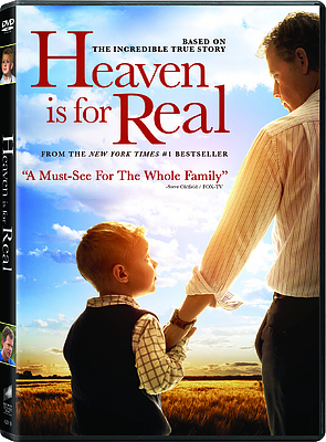 Heaven Is For Real DVD Region 1