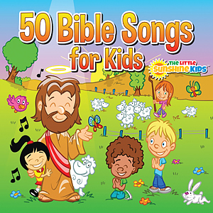 50 Bible Songs for Kids CD/Book