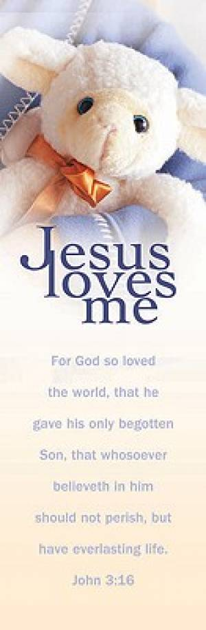 Bookmark Bh Jesus Loves Me