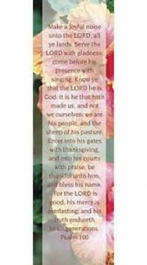 Psalm 100 Bookmark Pack of 25
