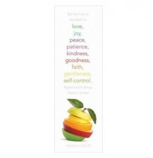 Bookmarks Fruit of Spirit - Pack of 25