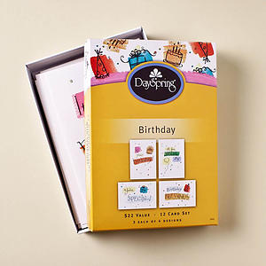 Birthday - Fun - 12 Boxed Cards