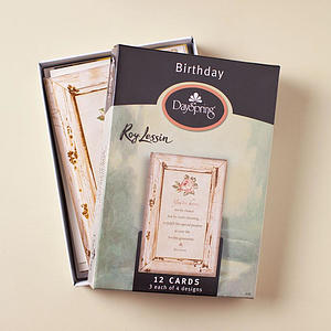 Roy Lessin - Birthday - 12 Boxed Cards
