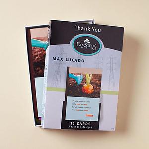 Max Lucado - Thank You - 12 Boxed Cards