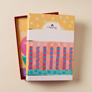 Birthday - Fun Celebrations - 12 Boxed Cards