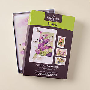 Nature's Blessings - Blank - 12 Boxed Cards