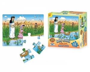 Baby Moses Jigsaw Puzzle - 12 Pieces