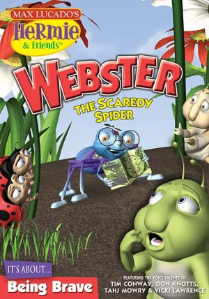 Webster, The Scaredy Spider DVD