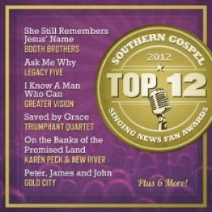 Top 12 Southern Gospel 2012 CD
