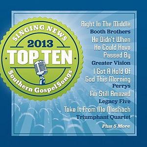 Top 10 Southern Gospel 2013