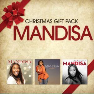 Mandisa Christmas 3CD Box Set