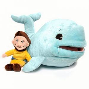 Plush Jonah and Fish