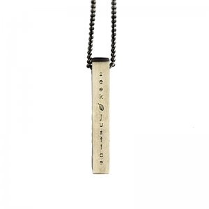Seek Justice Titanium Necklace