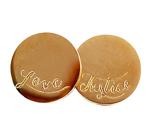 Love and Justice Stud Earrings