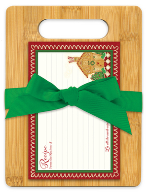 Home for Christmas Cutting Board Gift Set