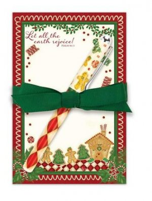 Home for Christmas Notepad Gift Set