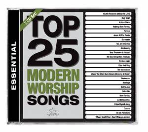 Top 25 Modern Worship Songs CD