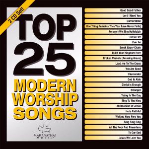 Top 25 Modern Worship Songs 2016 2CD