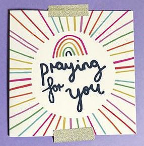 Praying for You Single Card