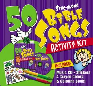 50 Bible Songs For Kids Activity Kit
