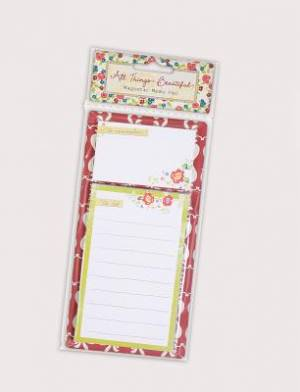 All Things Beautiful List Pad
