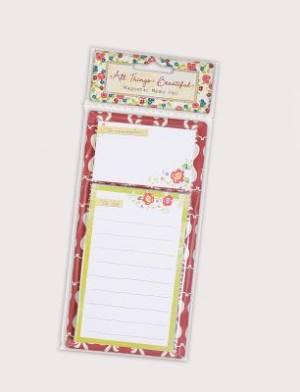 All Things Beautiful List Pad