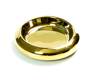 Brass Communion Tray Bread Insert