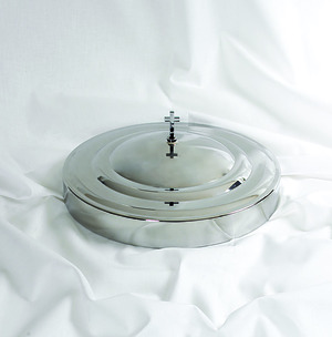 Silver Tray and Disc Cover