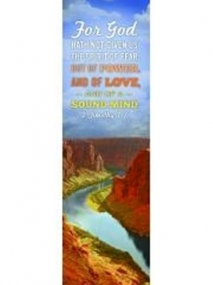 2 Timothy 1:7 Bookmarks - Pack of 25