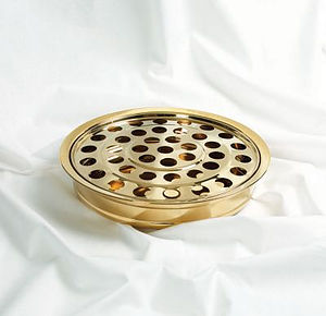 One-Pass Brass Communion Tray and Disc