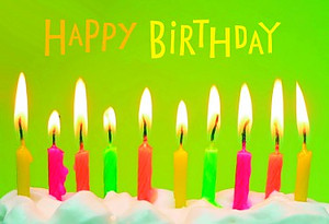 Birthday - Simply Bright - 12 Boxed Cards