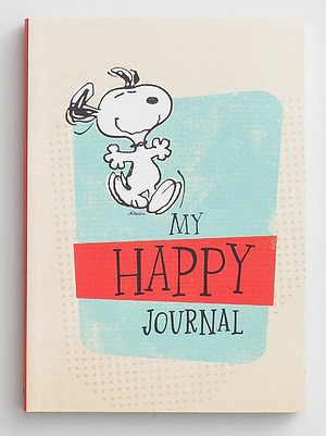 Peanuts - Happy Notebook Journal