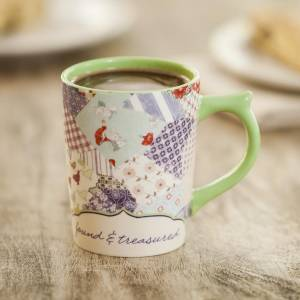 Redeemed - Patchwork - Christian Mug