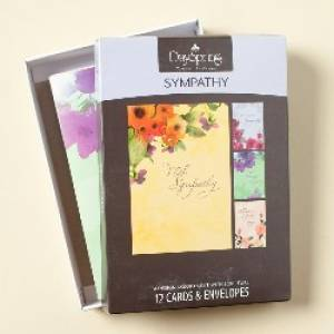 BOXED CARD SYM WATERCOLORS