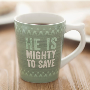 Mighty to Save Mug