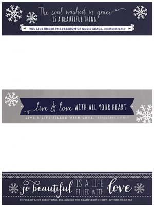 Live and Love Christmas Paper Chain Pack