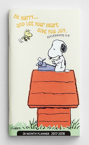 Peanuts 28 Month Planner 2017