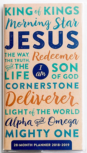 Names of Jesus - 2018 28-Month Planner