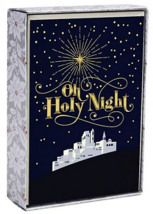 Oh Holy Night Box of 18 Christmas Cards