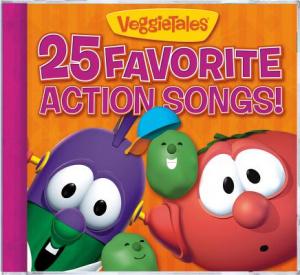 25 Favorite Veggie Action Songs