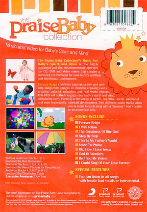 Praise Baby Forever Reign Dvd Free Delivery When You